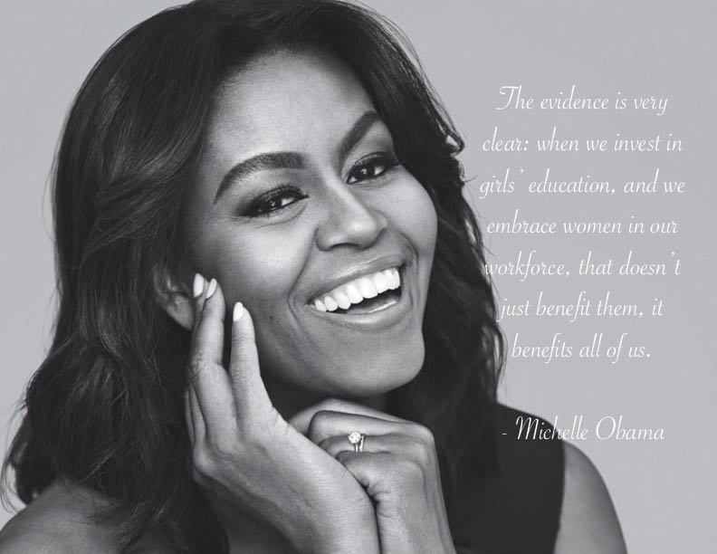 Michelle Obama on TED Talks