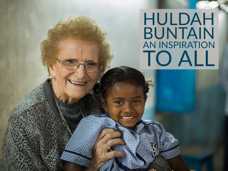 Huldah Buntain – An Inspiration To All